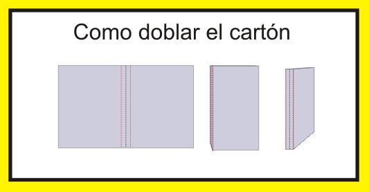 Como usar el cartón para hacer la funda
