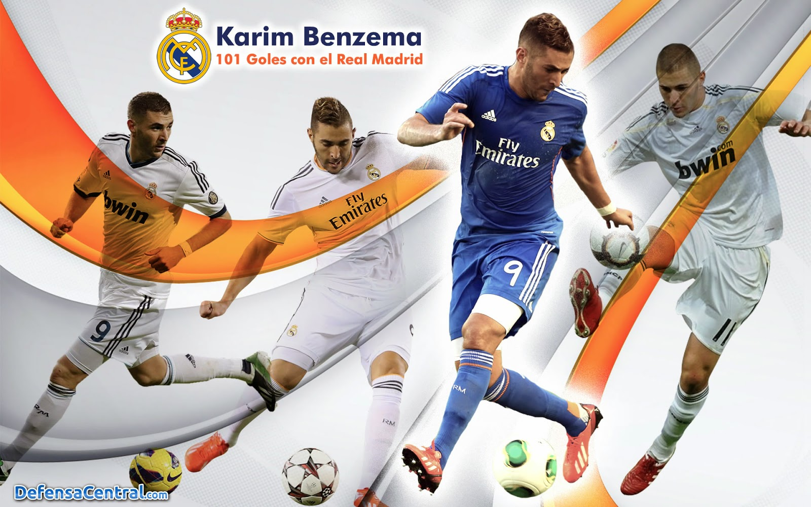 Karim Benzima Real Madrid Wallpaper HD 2014