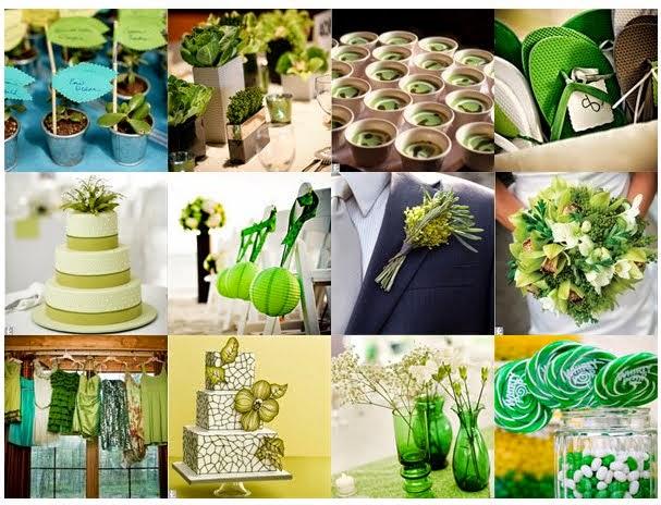 Green And Blue Wedding Theme Flowers|http://refreshrose.blogspot.com/