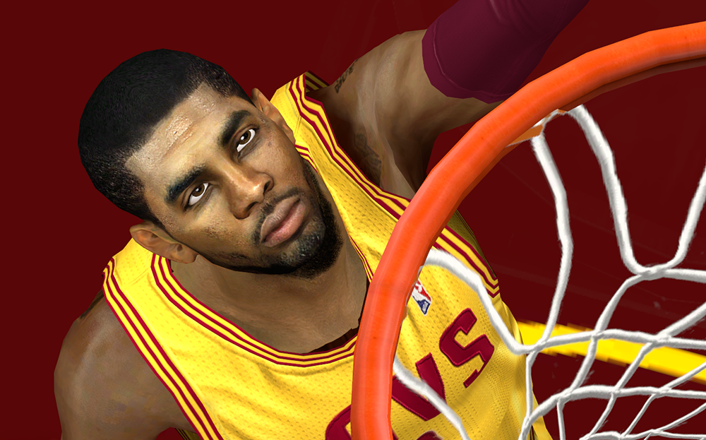 HD Kyrie Irving Face NBA2K14 Patch