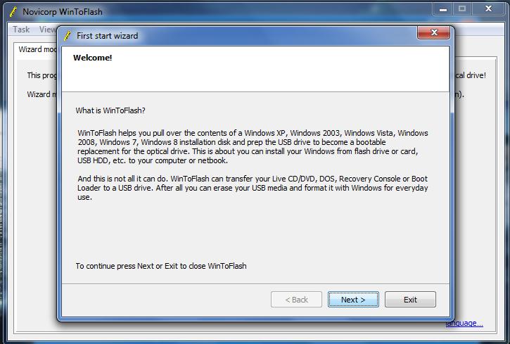 Cara install NetBook dengan FlashDisk