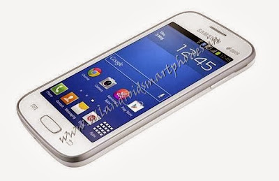 Samsung Galaxy Star Pro S7262 Wi-Fi Android Phone White Side Image & Photo Review