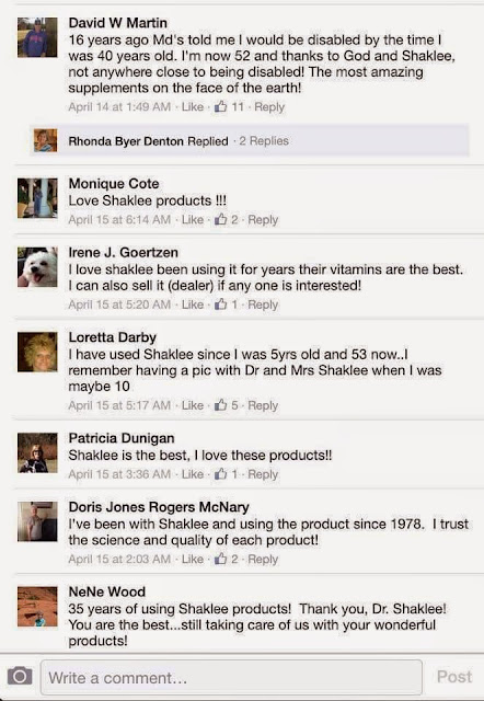 review shaklee