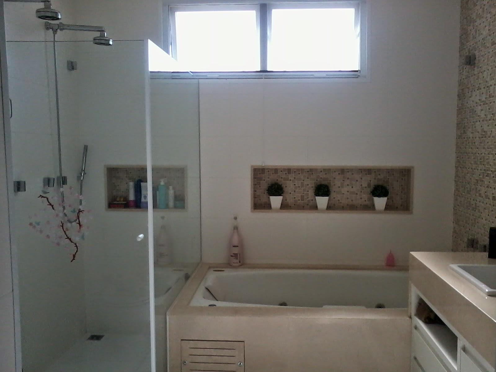 NICHO PARA SHAMPOO ~ Rachel Avellar Interiores -> Nicho Alvenaria Banheiro