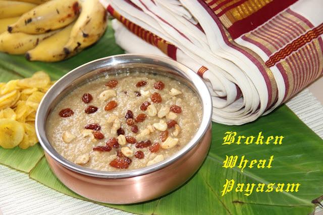 Broken Wheat Pradaman