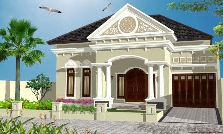 desain rumah mediterania sederhana blog koleksi desain rumah