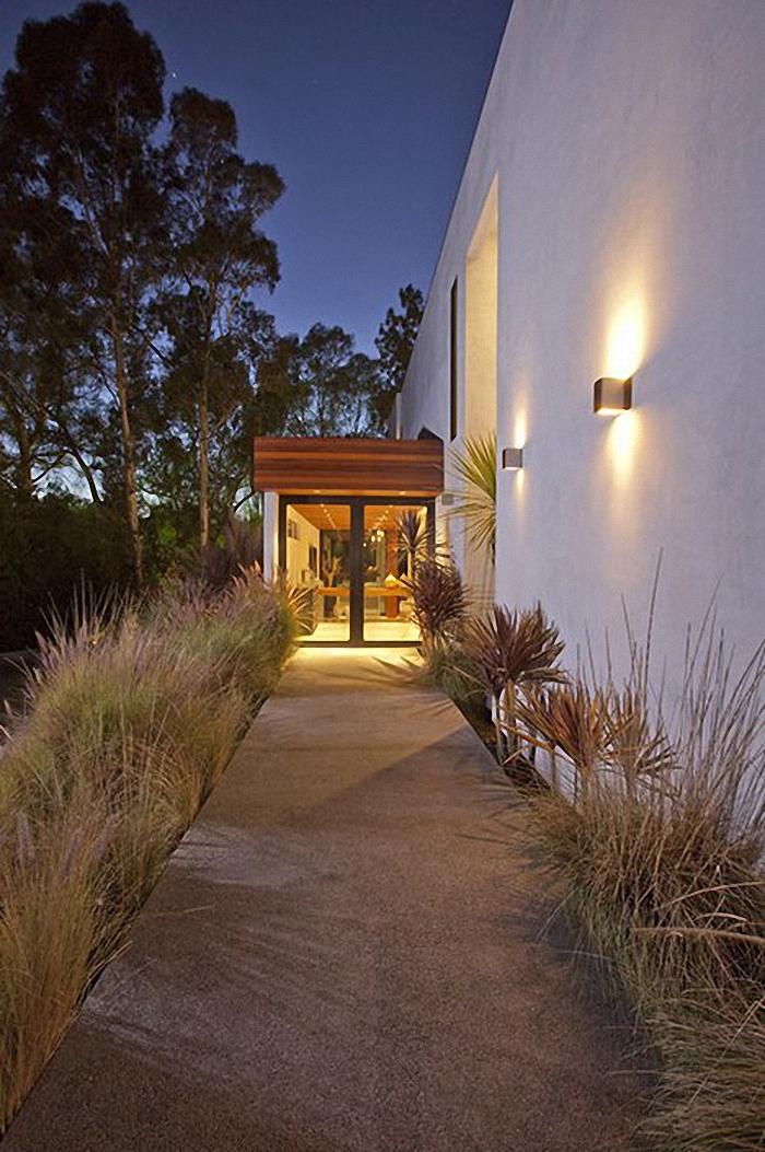 Hogares frescos dise o impecable casa contempor nea de for Diseno exterior casa contemporanea