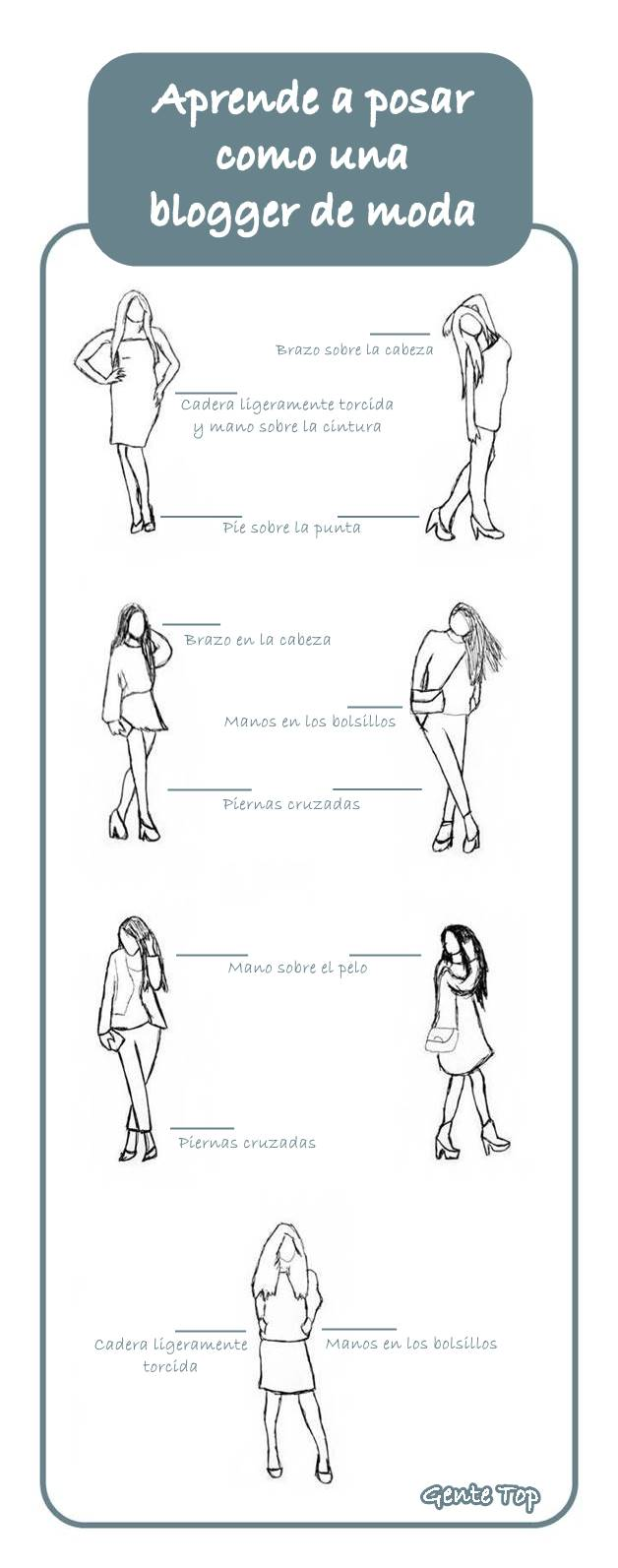 poses aprender posar como blogger de moda
