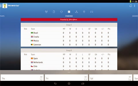 Fifa World Cup 2014 App free download