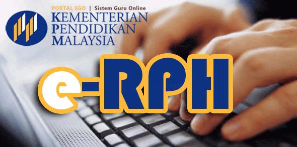 eRPH 2015 | Rancangan Pengajaran Harian Bentuk Softcopy Lebih Mudah