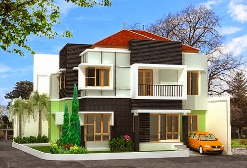 kumpulan contoh model rumah minimalis terbaik desain