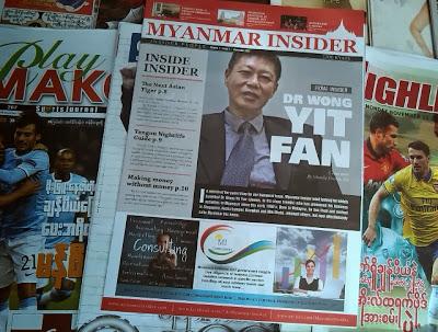 Myanmar Insider's debut
