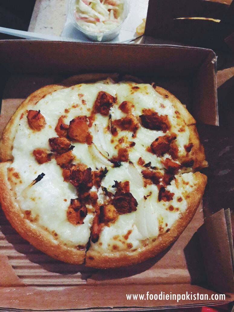 Creamy Tikka Pizza at California Pizza