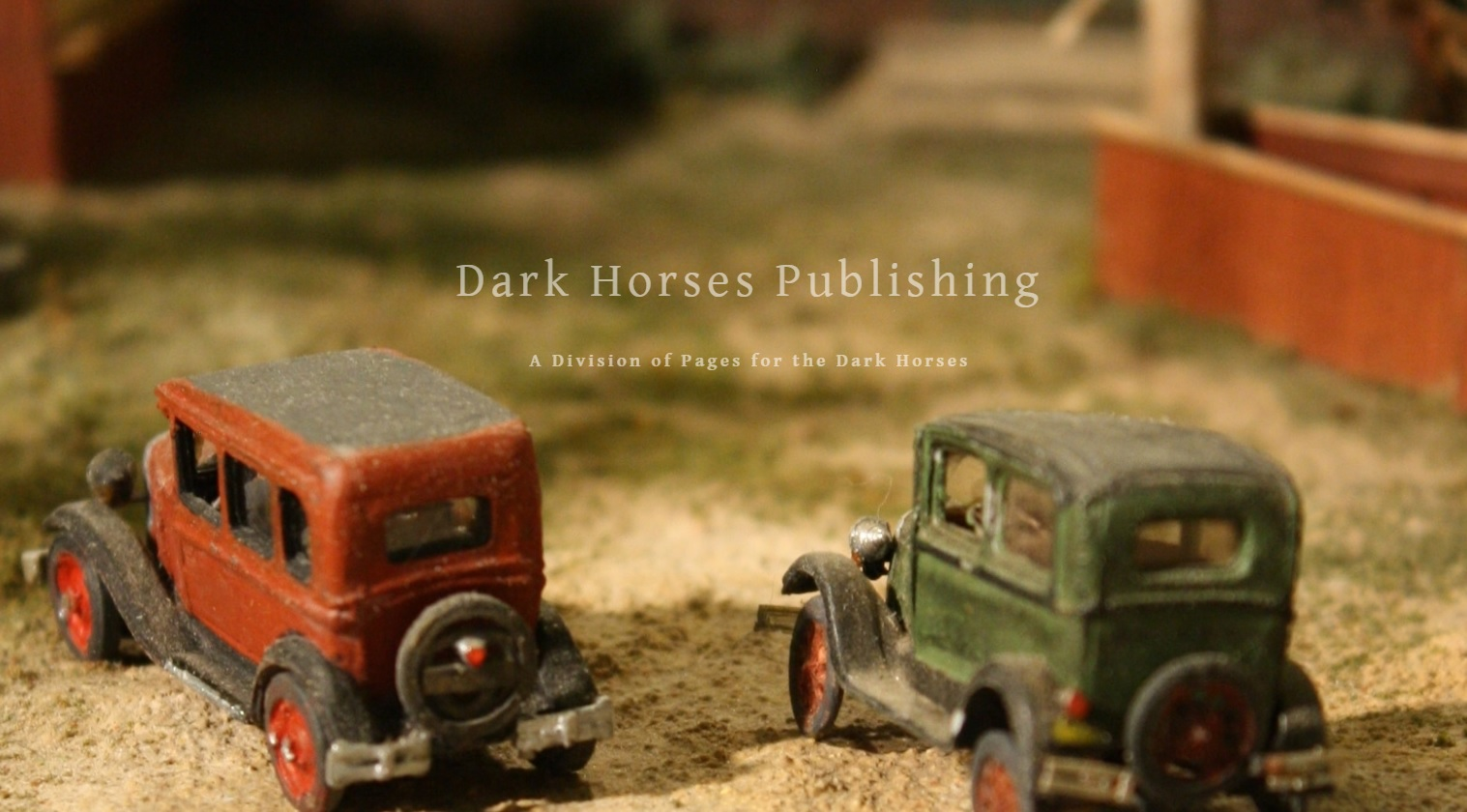 Looking for the Books? Dark Horses Publishing