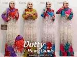 Gamis Dotty Flowy GC2124
