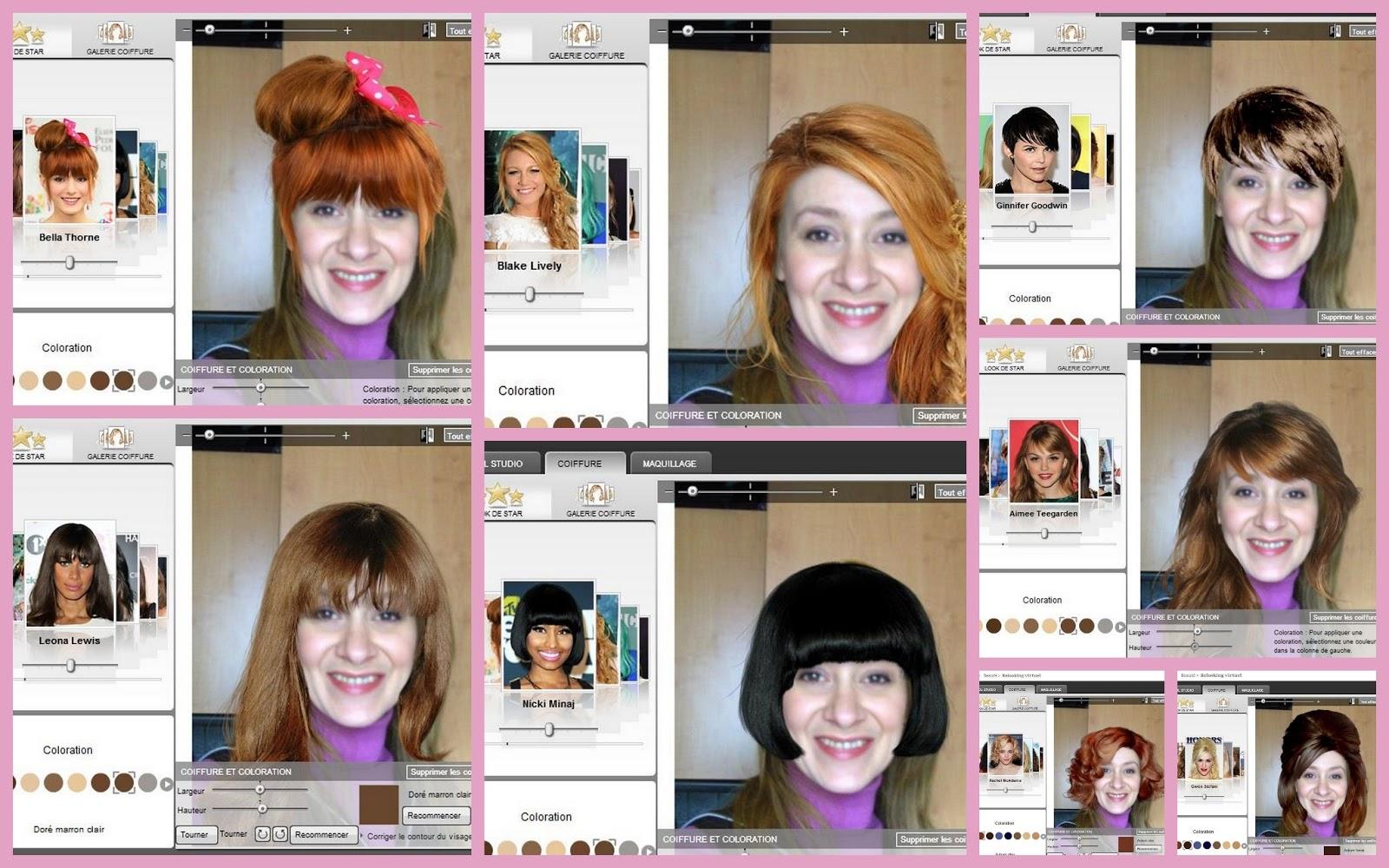 essayage de coiffure virtuel gratuit