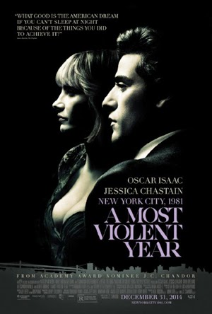 A Most Violent Year 2015 poster
