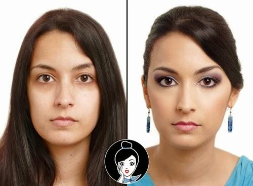 maquillaje de boda antes y despues