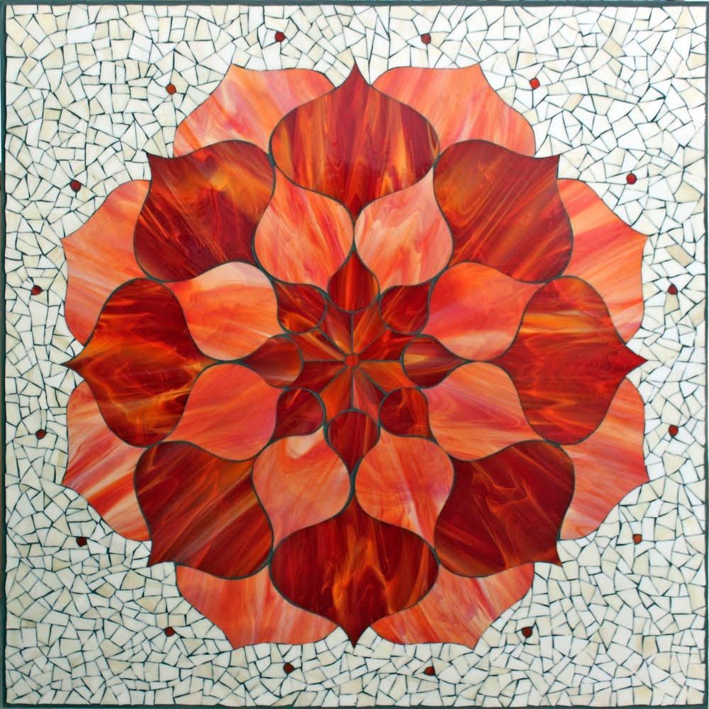 Red Lotus Flower