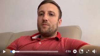 Tony Berbece 🔴 Mesaj de susținere pentru Peter Costea