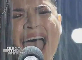 anne curtis wet looking performance  ASAP 2013