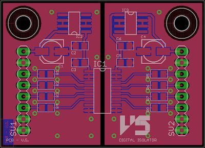 IL715 Digital Isolator PCB