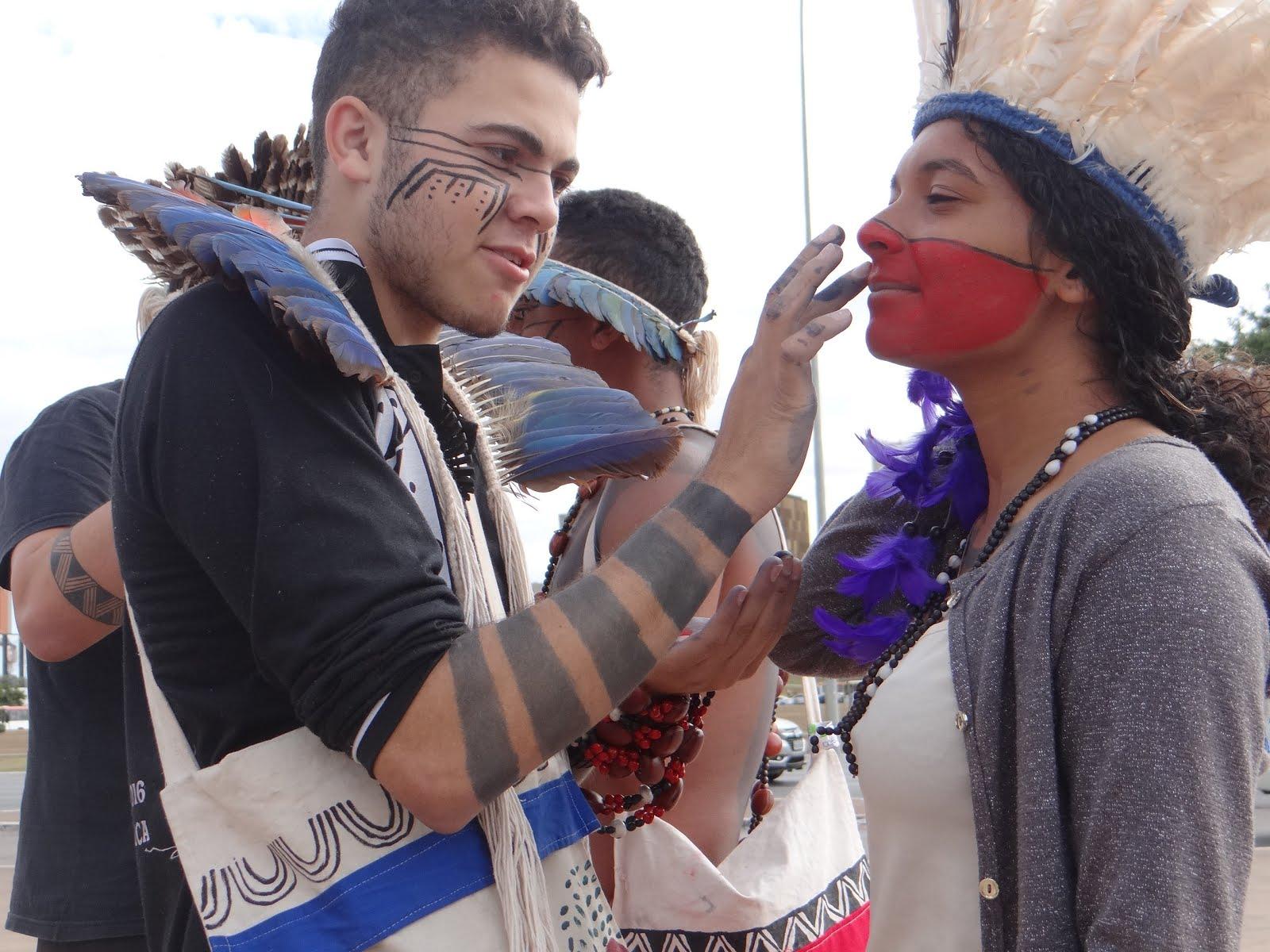 Mobilização Estudantes Indigenas