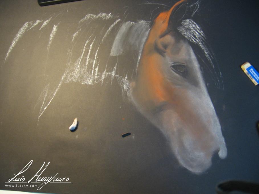 ¿Como se dibuja un caballo?