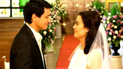 Richard Gomez and Dawn Zulueta Wedding Scene in Walang Hanggan