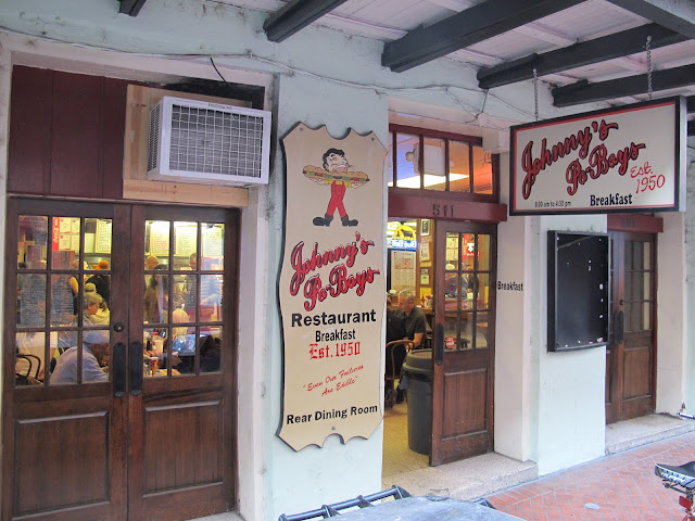 Johnny's Po-Boy Restaurant Exterior