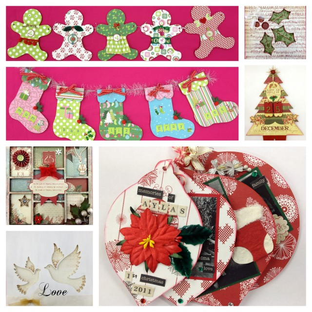 Artfull Crafts Christmas Countdown 3 Weeks To Go Table Decorations