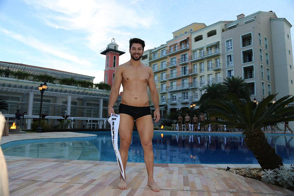 Mister Ilha dos Bandeirantes - Japa Ushijima, 24 anos, 1,81 m - Foto: Leonardo Rodrigues