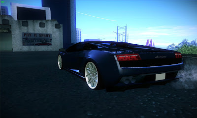 GTA SA - Gallardo With BLQ Concave