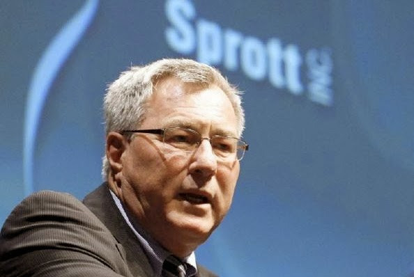 Sprott takes on large losses