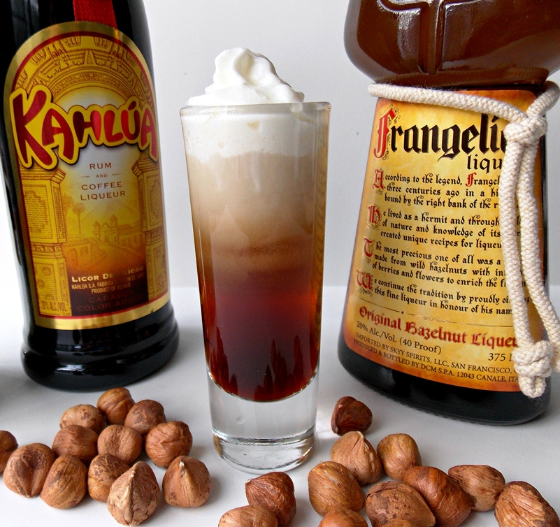 Oatmeal cookie drink recipe frangelico