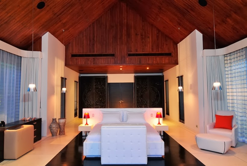 Master bedroom in Contemporary villa in Phuket, Thailand