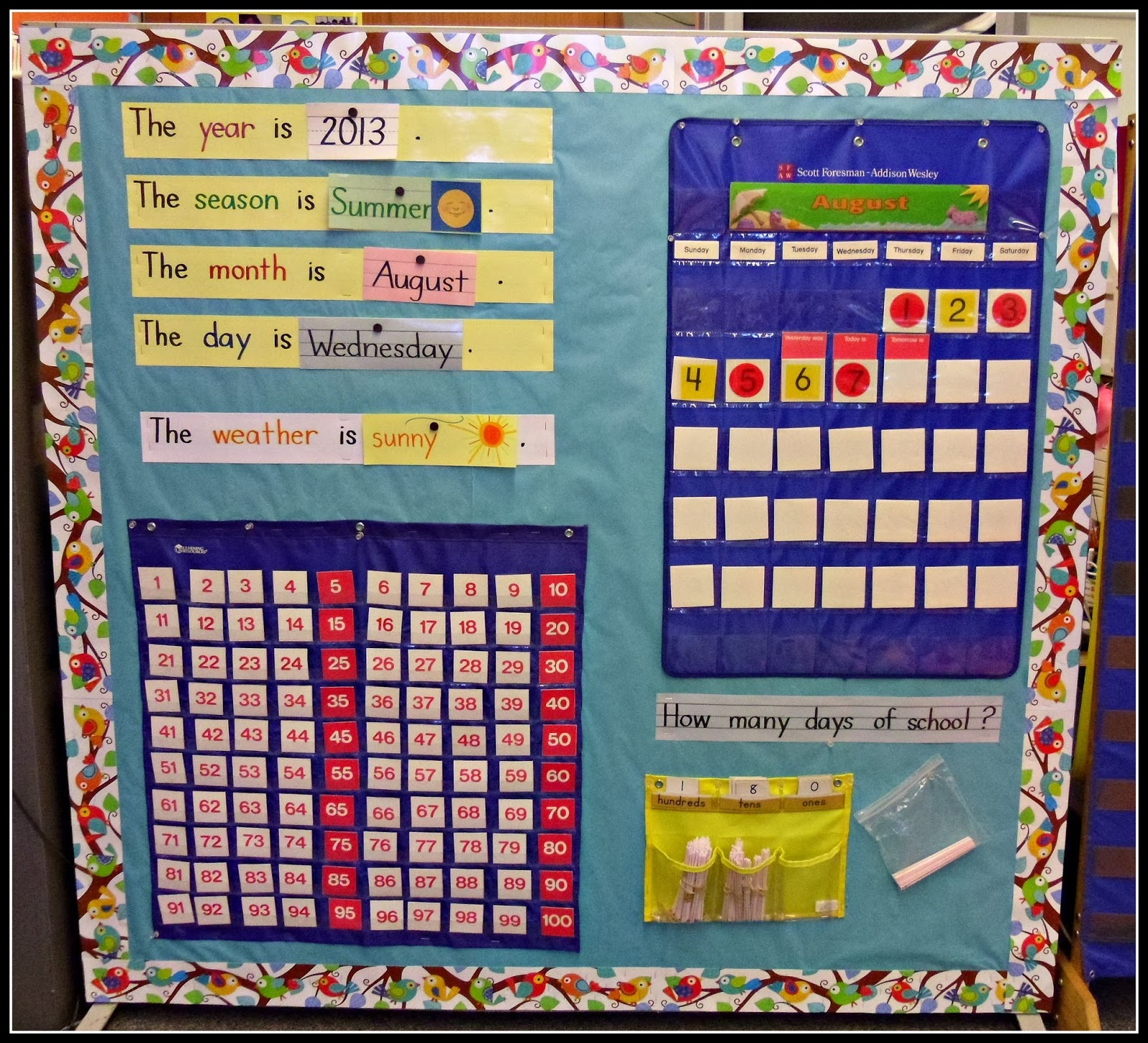Kindergarten Calendar Wall : Mrs byrd s learning tree word wall