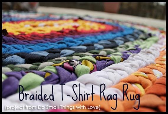 Make A Braided T Shirt Rag Rug Creative Green Living