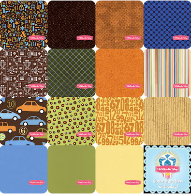 Robin's Blogger's Choice fat quarter combo