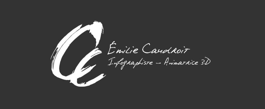 Emilie Caudroit - infographiste/animatrice 3D