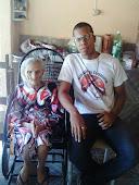 Ex-cangaceira Aristéia,companheira do cangaceiro Catingueira