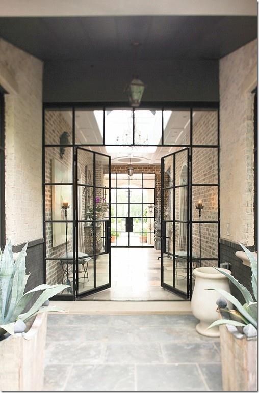 Otis Frank Steel Framed Glass Doors