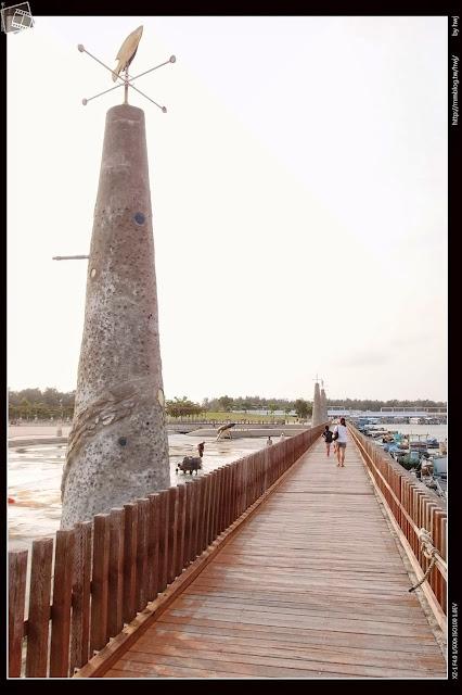 嘉義東石漁人碼頭-親水公園