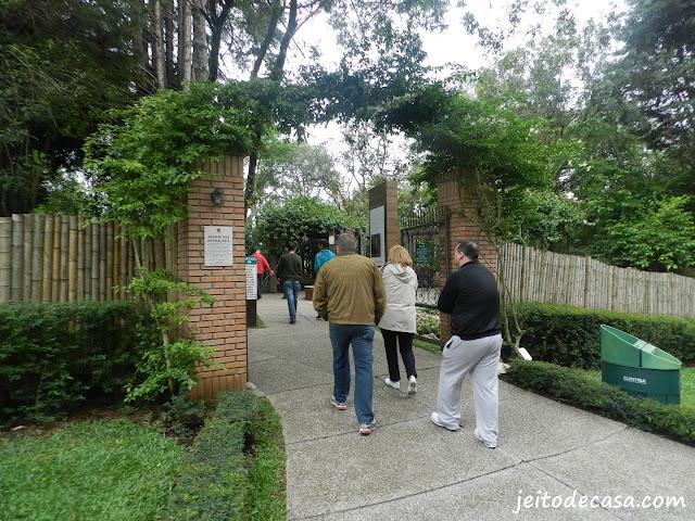 Jardim botânico Curitiba Jardim das sensações
