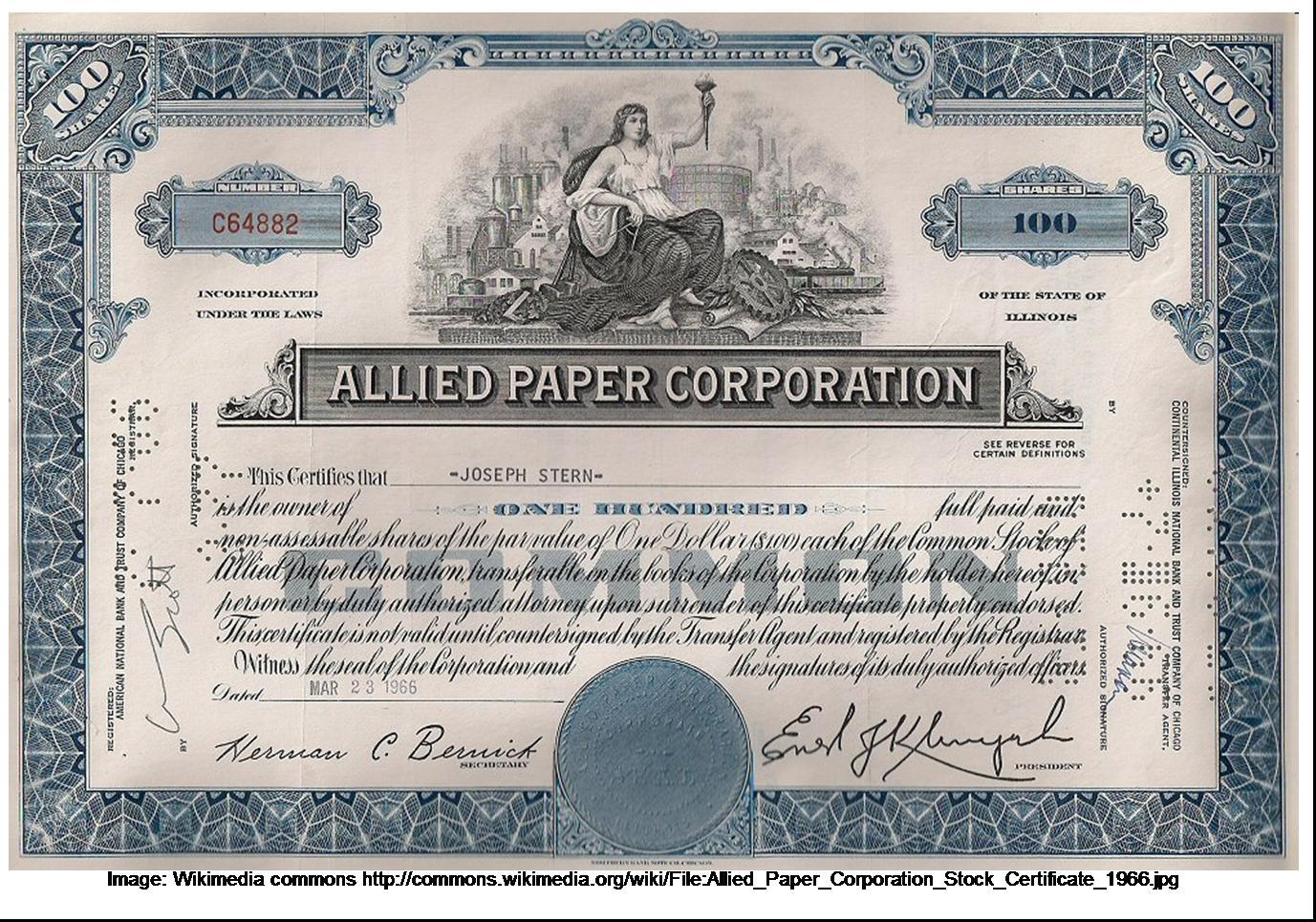 Stock certificate template disney stock certificate template stock certificate template yelopaper Gallery