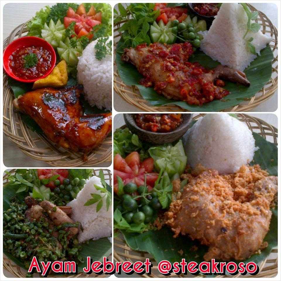 Nasi box AYAM JEBRET, Nasi Box Murah di Bandung