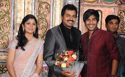 Actor Karthi Wedding Reception Photos
