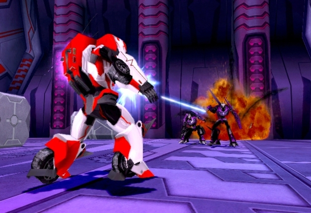 Screenshot of Transformers