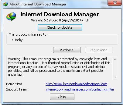 Download Serial Number IDM Crack 6.19 build 8 Terbaru