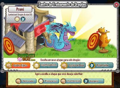 Dragão Luminescente - Informações